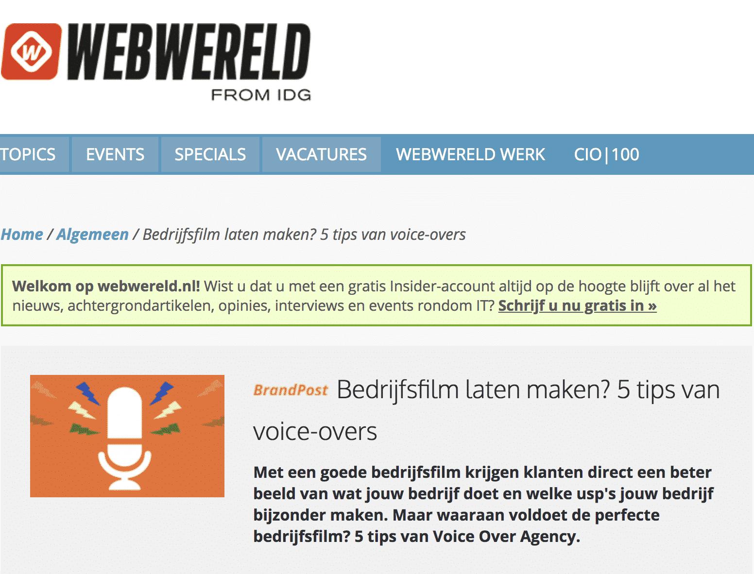 webwereld pers